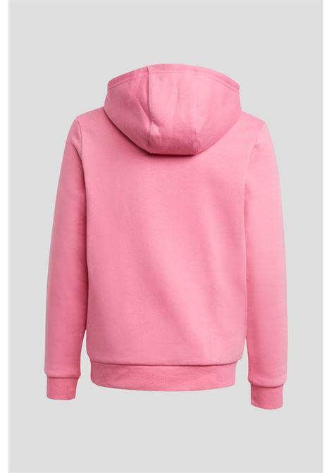 Pink baby adicolor hoodie by adidas  ADIDAS   Sweatshirt   H14148.