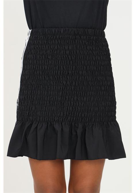 Gonna smocked skirt nero adidas corta ADIDAS | Gonne | H17929.