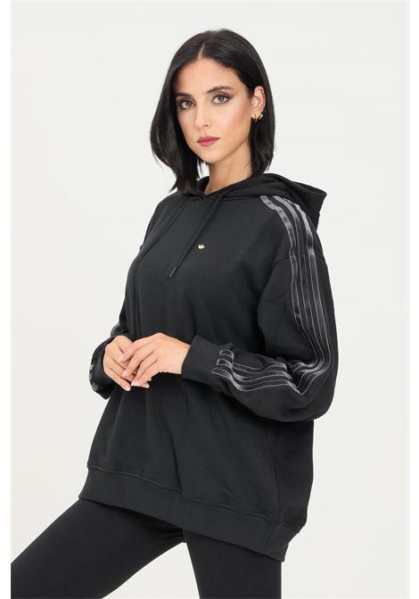 Black women's hoodie by adidas ADIDAS | Sweatshirt | H18039.