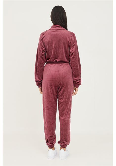 Tuta boilersuit cozy velvet donna bordeaux adidas ADIDAS | Tute | H18047.