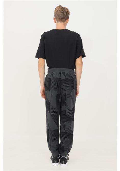 Pantaloni adidas sportswear graphic uomo grigio casual ADIDAS | Pantaloni | H18418.