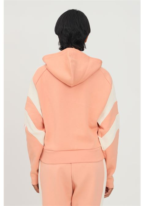 Giacca adidas sportswear colorblock full zip donna rosa con zip frontale ADIDAS | Felpe | H20223.