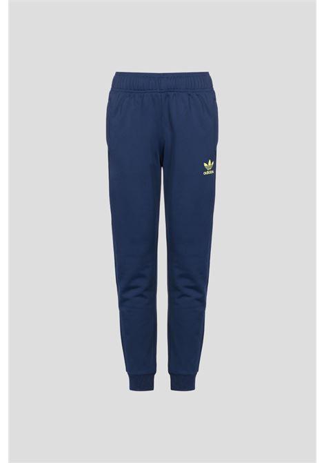 Pantaloni allover print sst bambino blu adidas ADIDAS | Pantaloni | H20301.