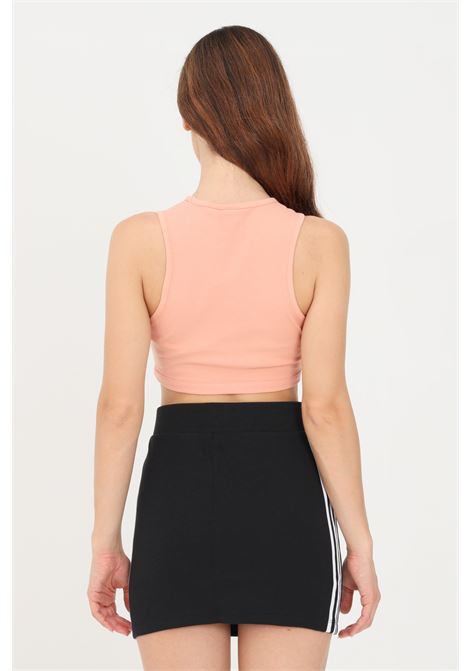 Pink adicolor essentials top with ribs by adidas  ADIDAS | Top | H20361.