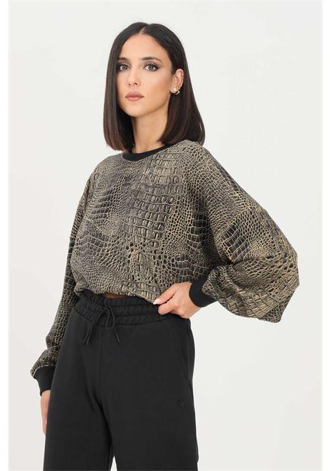 Women's sweatshirt by adidas crew neck model with allove print  ADIDAS | Sweatshirt | H20432.