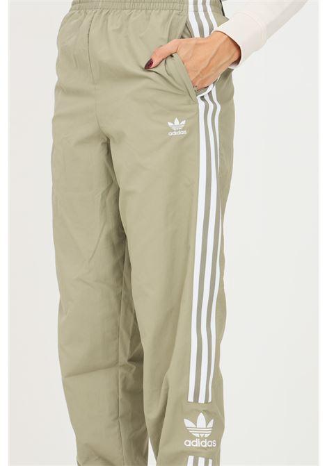 Green women's adicolor classics lock up track pants by adidas ADIDAS | Pants | H20546.