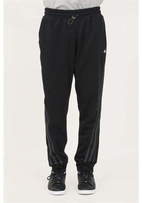 Pantaloni uomo nero adidas con coulisse in vita ADIDAS | Pantaloni | H21552.