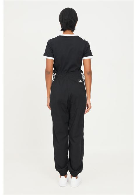 Black women's adidas performance trousers, casual model with elastic waistaband ADIDAS | Pants | H21575.
