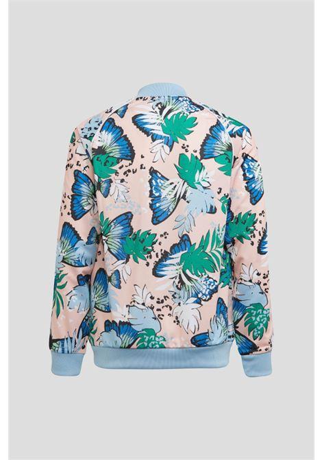 Pink baby her studio london animal sweatshirt by adidas  ADIDAS   Sweatshirt   H22593.