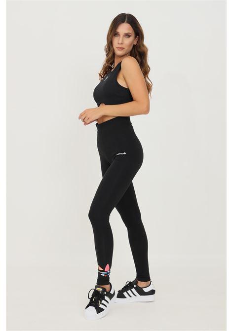 Leggings shattered trefoil donna nero adidas ADIDAS   Leggings   H22850.