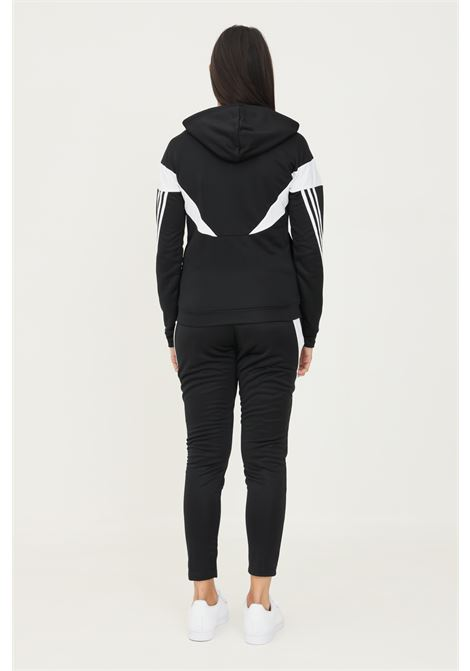 Tuta adidas sportswear colorblock donna nero ADIDAS | Tute | H24115.