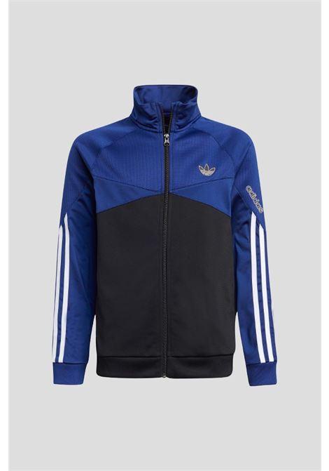 Felpa 3 stripes sprt blu bambino adidas ADIDAS | Felpe | H31216.