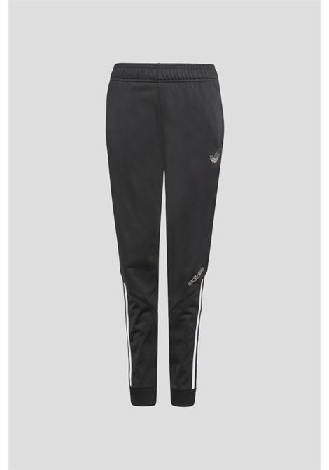 Pantaloni sprt nero bambino adidas ADIDAS | Pantaloni | H31218.