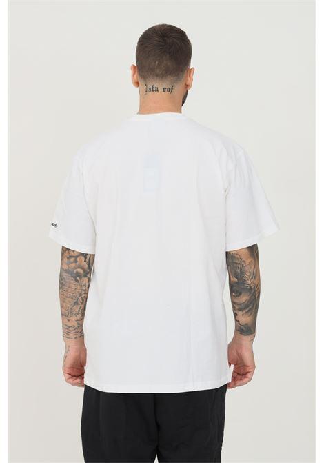 T-shirt summer trefoil uomo bianco adidas a manica corta con stampa frontale ADIDAS | T-shirt | H31306.