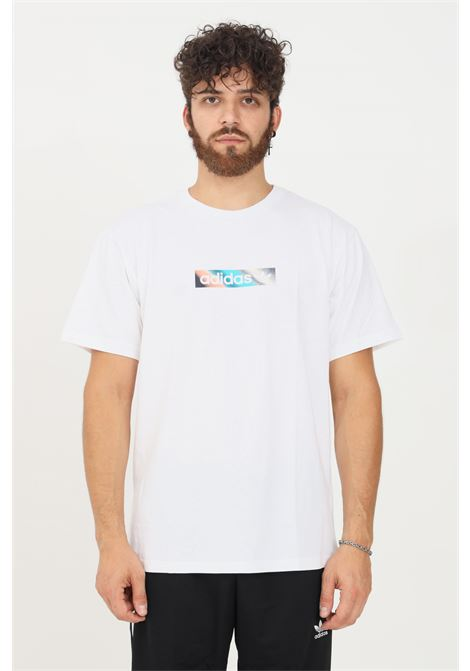 T-shirt summer box line unisex bianco adidas a manica corta ADIDAS   T-shirt   H31311.