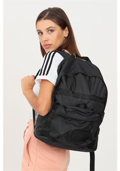 Black unisex RYV backpack by adidas ADIDAS | Backpack | H32459.