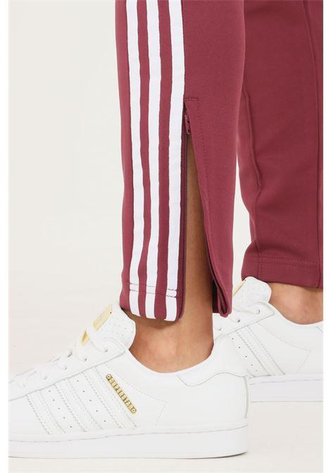 Bordeaux women's track pants primeblue sst trosuers by adidas  ADIDAS | Pants | H34580.