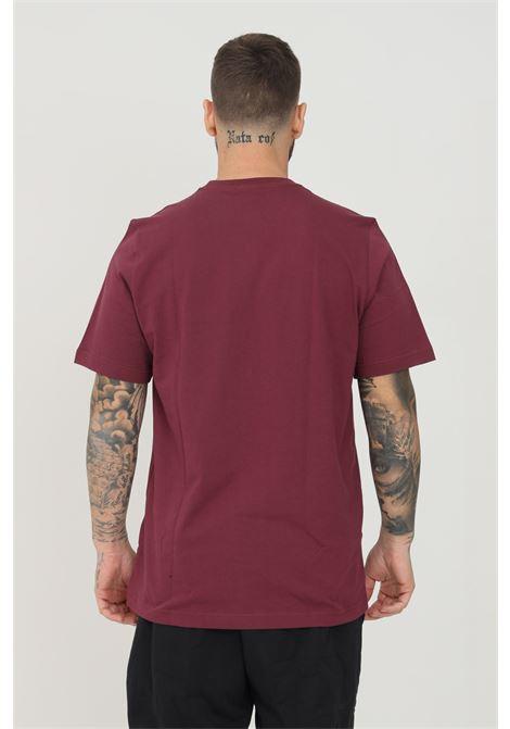 T-shirt adicolor essentials trefoil tee uomo bordeaux a manica corta ADIDAS | T-shirt | H34635.