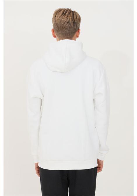White men's adicolor essentials trefoil hoodie by adidas ADIDAS | Sweatshirt | H34649.
