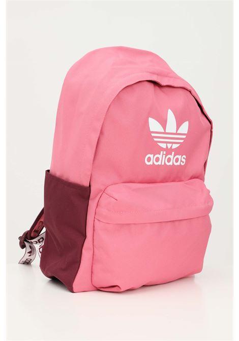 Zaino adicolor donna rosa adidas con logo a contrasto ADIDAS | Zaini | H35599.