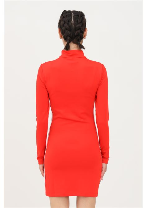 Red women's dress by adidas short cut ADIDAS | Dress | H35614.