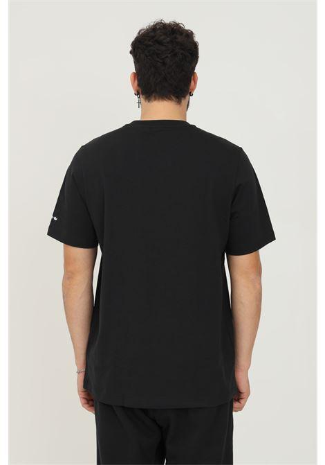 T-shirt adicolor shattered trefoil uomo nero adidas a manica corta ADIDAS | T-shirt | H35647.