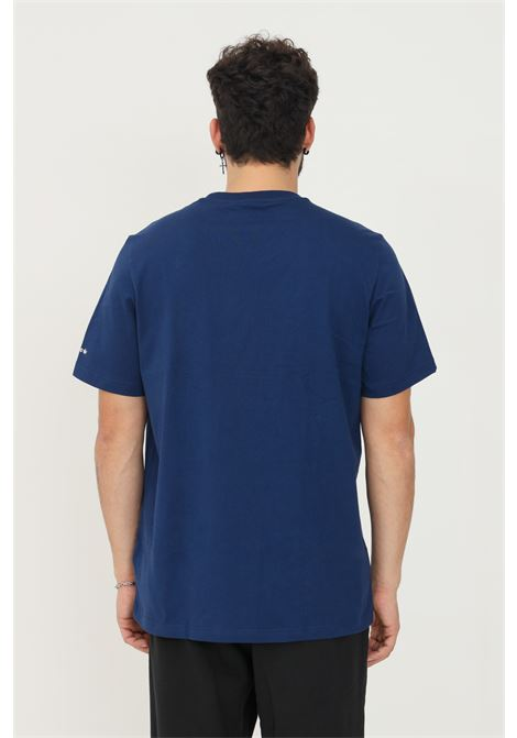 T-shirt adicolor shattered trefoil uomo blu adidas a manica corta ADIDAS | T-shirt | H35648.