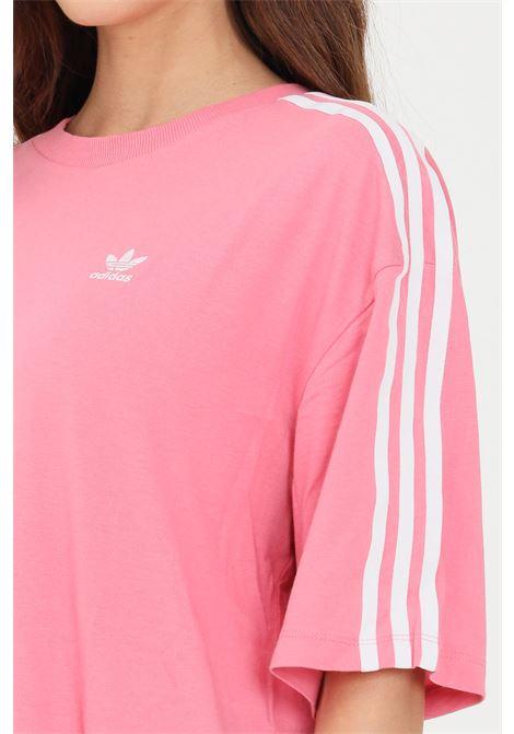 Pink women's adicolor classics oversize t-shirt short sleeve adidas ADIDAS | T-shirt | H37797.