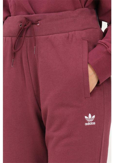 Bordeaux women's adicolor essentials slim joggers trousers by adidas ADIDAS | Pants | H37879.