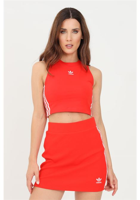 Red women's top casual model adidas  ADIDAS | Top | H38733.