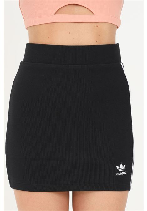Gonna adicolor classic donna nero adidas corta ADIDAS | Gonne | H38761.