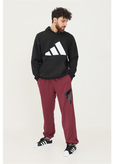 Pantaloni adidas sportswear future icons logo graphic uomo bordeaux ADIDAS | Pantaloni | H39797.