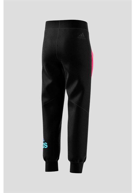 Pantaloni adidas performance nero bambina ADIDAS | Pantaloni | H40241.