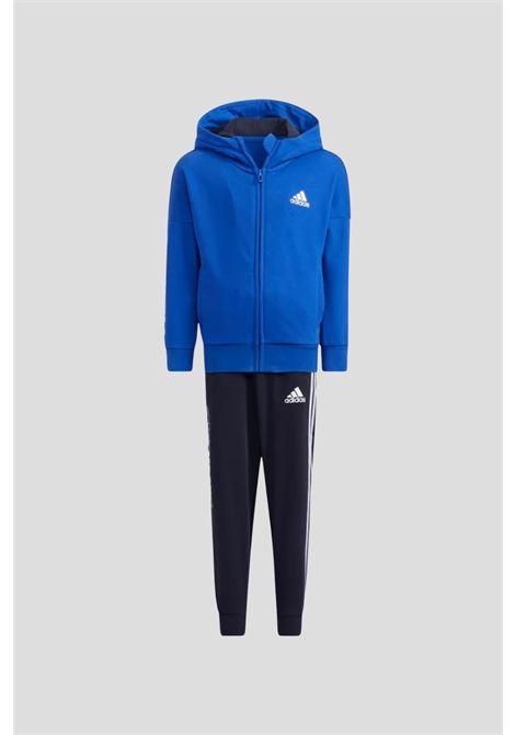 Tuta graphic bambino unisex blu nero adidas ADIDAS | Tute | H40247.