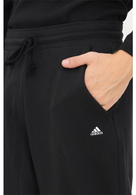 Pantaloni joggers essentials uomo nero adidas ADIDAS | Pantaloni | H47786.