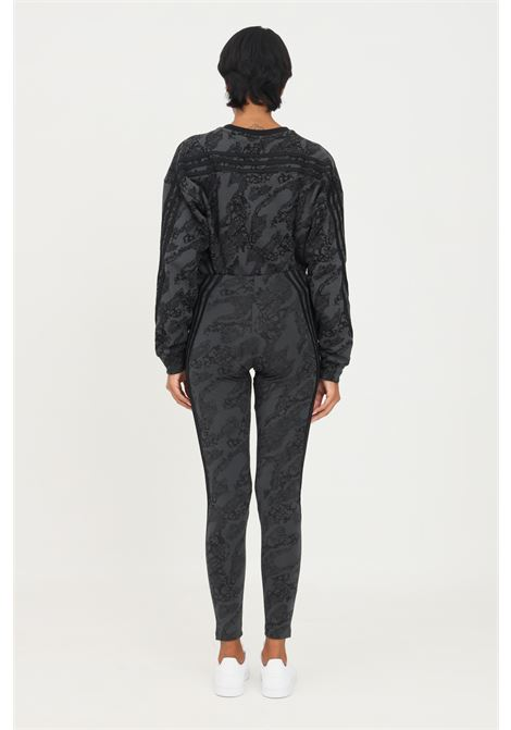 Grey tight adidas sportswear future icons animal-print leggings ADIDAS   Leggings   HA5702.