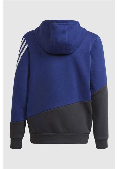 Tuta adidas boy's track suit winterized warm bambino blu ADIDAS   Tute   HB5047.