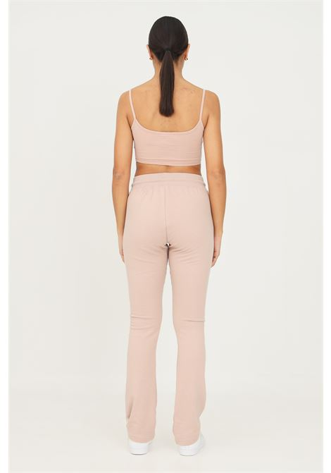 Beige women's adidas 2000 luxe open hem track pants casual model ADIDAS | Pants | HF6770.