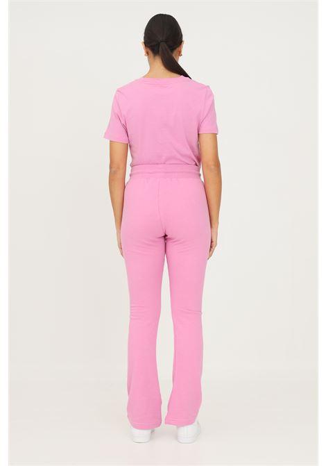 Pink women's adidas 2000 luxe open hem track pants casual model ADIDAS | Pants | HF6771.