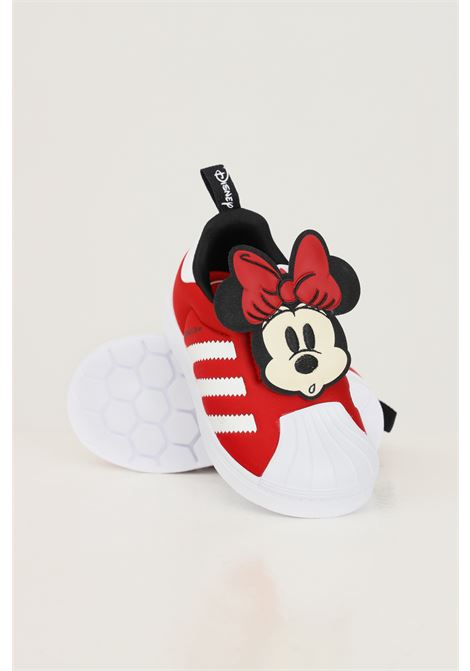 Sneakers disney superstar 360 neonato rosso adidas con applicazione minnie ADIDAS | Sneakers | Q46306.