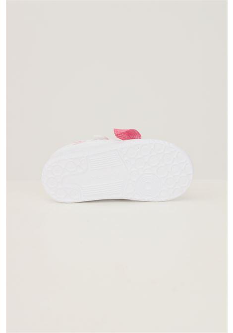Sneakers forum low neonato bianco adidas con applicazione fiocco ADIDAS | Sneakers | Q46432.