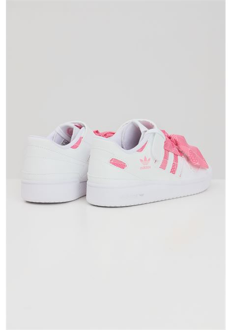 Sneakers forum low c bambina bianco adidas ADIDAS | Sneakers | Q47376.