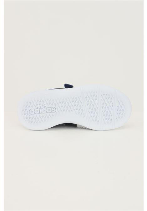 Sneakers tensaur bambino unisex blu adidas con strappi ADIDAS | Sneakers | S24050.