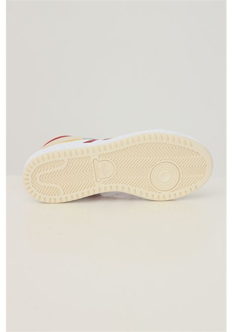 White unisex top ten sneakers by adidas with contrasting bands ADIDAS | Sneakers | S24133.