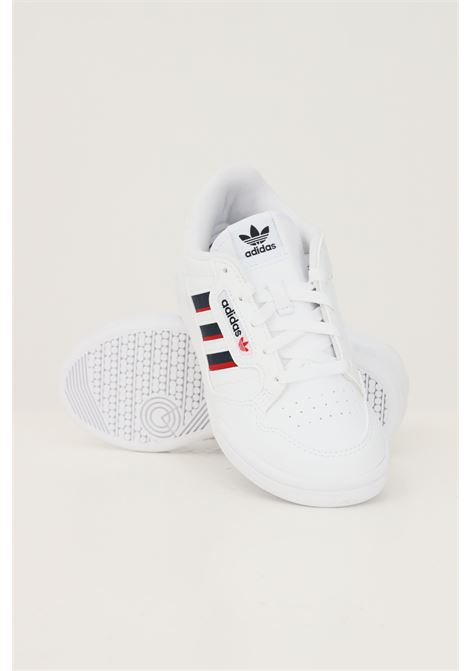 Sneakers continental 80 stripes c bambino unisex bianco ADIDAS | Sneakers | S42611.