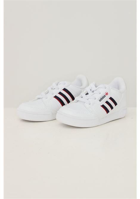 Sneakers continental 80 stripes shoes neonato bianco con bande a contrasto ADIDAS   Sneakers   S42613.
