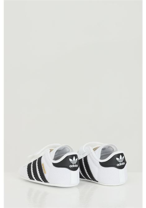 White newborn superstar sneakers with contrasting bands adidas ADIDAS | Sneakers | S79916.