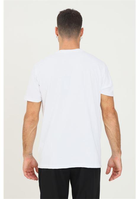T-shirt bianco uomo alessandro dell'acqua con stampa sul fronte ALESSANDRO DELL'ACQUA | T-shirt | AD0800/M020510