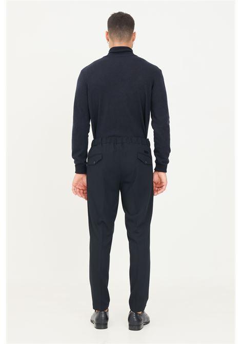 Pantaloni uomo blu alessandro dell'acqua con elastico posteriore in vita ALESSANDRO DELL'ACQUA | Pantaloni | AD7310/T2342E50
