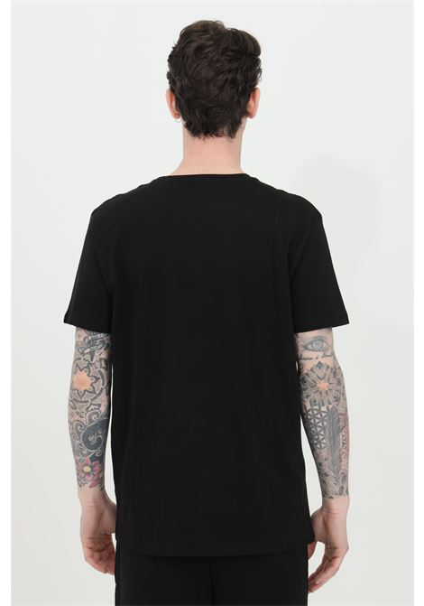 Black t-shirt with logo print on the front. Regular fit. Alpha industries ALPHA INDUSTRIES | T-shirt | 100501RR03